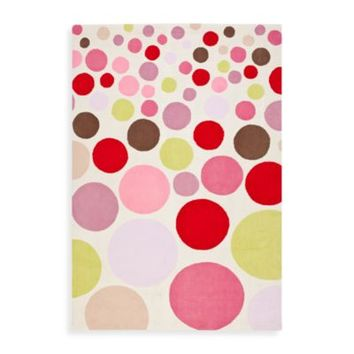 Shop Polka Dot Rug On Wanelo