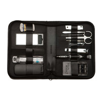 "14 Pieces Manicure & Grooming Set with ""Mach 3"" Razor and Refills"