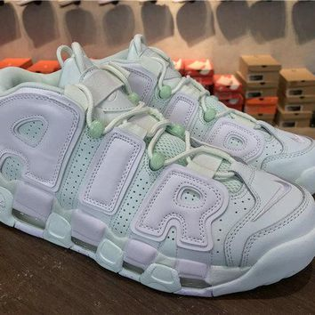 Nike Air More Uptempo MINT Barely Green 917593 300 barely green white