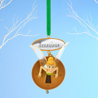 Tinker Bell Sketchbook Ornament - Peter Pan - Personalizable
