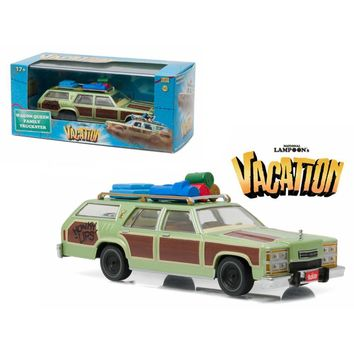 1979 Family Truckster \Wagon Queen\ Honky Lips Version \National Lampoon\s Vacation\ Movie (1983) 1-43 Diecast Model Car by Greenlight