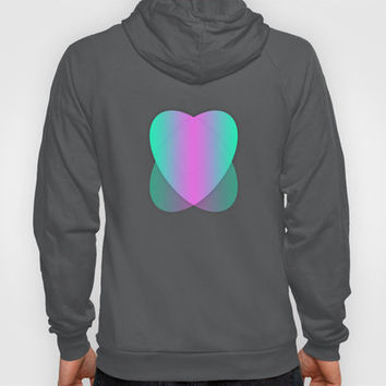 Two Hearts III Hoody by Rain Carnival