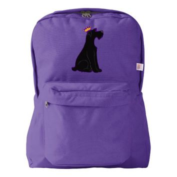 Schnauzer Prince American Apparel™ Backpack