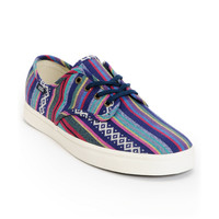 Vans Madero Dress Blue & Guate Canvas Shoe at Zumiez : PDP