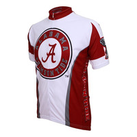 Alabama Crimson Tide NCAA Road Cycling Jersey (Small) - Sports Collectibles