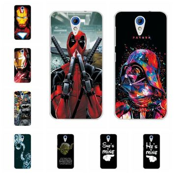 Deadpool Dead pool Taco Charming  Spiderman Case Coque For HTC Desire 620 620G Desire 820 Mini Soft TPU Phone Cases For HTC 620 Back Cover Capa AT_70_6