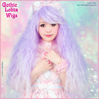 Gothic Lolita Wigs® Rhapsody™ Collection - Lavender Fade -00106