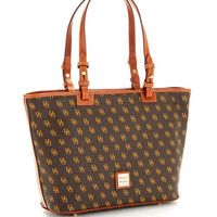 Dooney & Bourke Small Logo Patterned Shopper Tote
