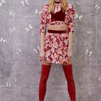 Blossom Mini Skirt – For Love & Lemons