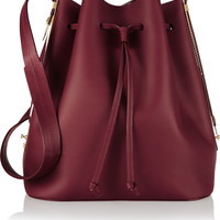 Sophie Hulme - Extendable matte-leather bucket bag
