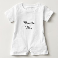 Miracle Boy Baby Romper