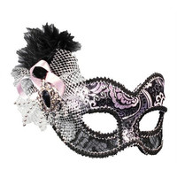 Costume Mask: Venetian Showgirl Mask