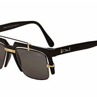 DCCK2 Cazal Legends Shiny Black/Gold Retro Fashion Sunglasses