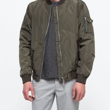 Topman Khaki Ma 1 Bomber Jacket From Need Supply Co Him