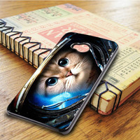 Space Cat HTC One M7 Case