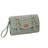 Mint Croc Crossbody by 33rd & MAD by Koret