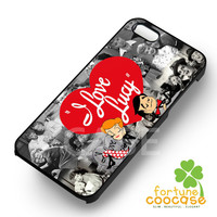 I Love Lucy Retro VIntage - zzFzz for  iPhone 6S case, iPhone 5s case, iPhone 6 case, iPhone 4S, Samsung S6 Edge