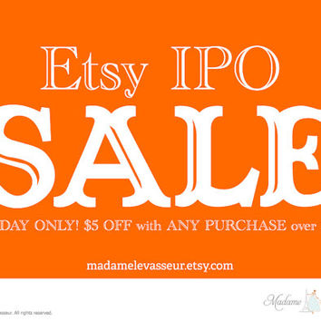 One Day Sale! Etsy IPO Sale! premade logo design printable art instant download art DIY wall art office art home decor digital art print