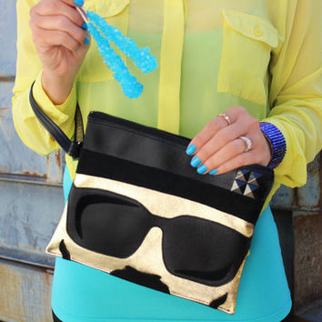 Heisenbag Clutch With Wristlet | Breaking Bad Heisenberg Inspired Purse | Geek Chic