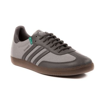 Mens adidas Samba Hemp Athletic Shoe, Gray Gum | Journeys Shoes
