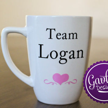 Gilmore Girl Inspired Mug - Team Logan - Tea Coffee