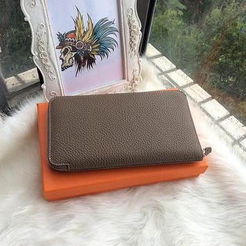 2017 Woman Wallets Luxury Design High Quality Genuine Leather Famous Brand Card Holder Men Long Wallet Purse Clutch