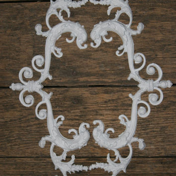 Furniture Applique / chic furniture / furniture appliques / DIY projects / shabby chic / romantic cottage / french country