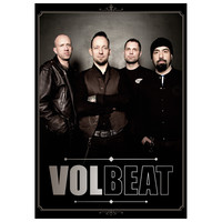 Volbeat - Shop - Band Portrait - Volbeat - Poster - Merch