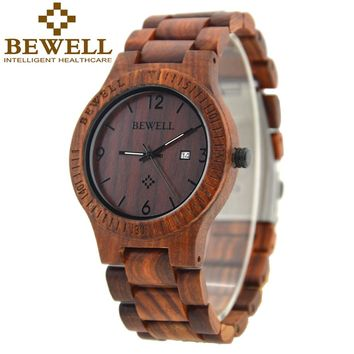 Luxury BEWELL Wood Watch