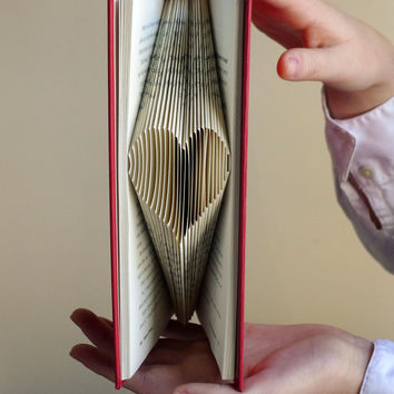 Gifts for Boyfriend  Girlfriend  Recycled Book  by LucianaFrigerio