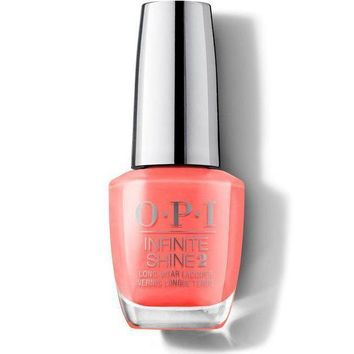 OPI Infinite Shine - Orange You a Rock Star? - #ISLN71