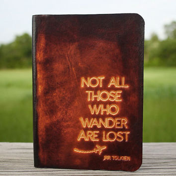 Not All Those Who Wander Are Lost Passport Cover