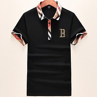 Burberry Casual Men V-Neck Shirt Top Tee