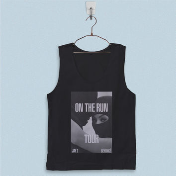 Men's Basic Tank Top - Beyonce and Jay Z on The Run Tour