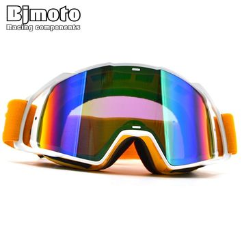 Cool motorcycle Motocross Off Road Windproof Goggles Anti Fog Google Racing Dirt Bike ski snowboard Helmet Goggles Glasses