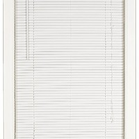 Achim Home Furnishings Deluxe Sundown 1-Inch Blind, 36-Inch by 64-Inch, White