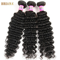 Online Shop Brazilian Deep Curly Hair With Closure 7a Virgin Hair Brazilian Deep Wave With Closure Grace Hair Company Bundles With Closure | Aliexpress Mobile