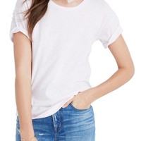 Madewell 'Whisper' Cotton Crewneck Tee | Nordstrom