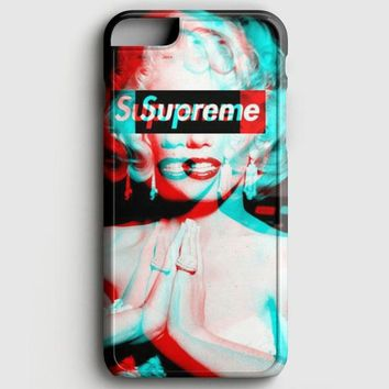 Supreme Monroe iPhone 6 Plus/6S Plus Case