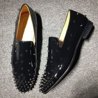ONETOW Cl Christian Louboutin Loafer Style #2326 Sneakers Fashion Shoes
