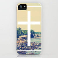 Shore Cross iPhone Case by EvanBurnham | Society6
