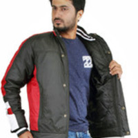 Truccer Basiscs Full Sleeve Solid Men's Slim Fit Bomber Biker Jacket - Buy Black Truccer Basiscs Full Sleeve Solid Men's Slim Fit Bomber Biker Jacket Online at Best Prices in India | Flipkart.com