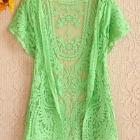 Lace cardigan shirt-1 from cassie2013