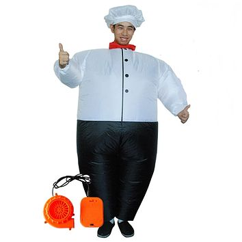 Inflatable Master Chef Costume