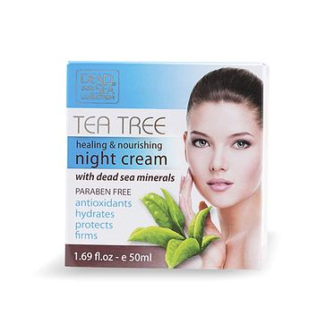 Tea Tree Healing & Nourishing Night Cream