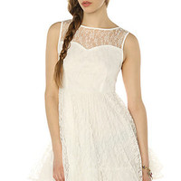 Glamourous Dress Gatsby in White