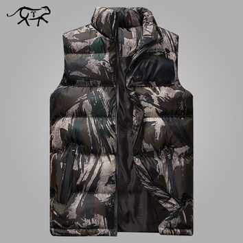 Vest Men New Stylish Winter Warm Sleeveless Jacket Waistcoat Slim Fit Men's Vest Fashion Casual Coats Men Plus Size M-5XL
