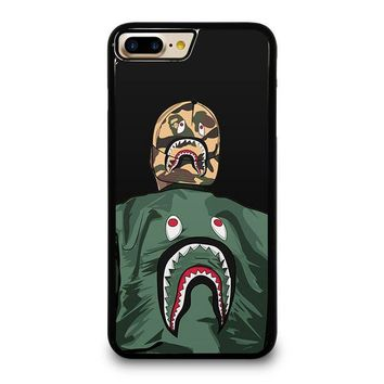 blaise travis hoodie bape shark iphone 4 4s 5 5s se 5c 6 6s 7 8 plus x case  number 1