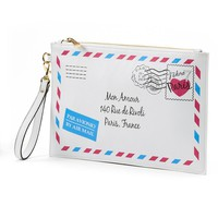 Apt. 9 Luna Travel Oversized Envelope Wristlet