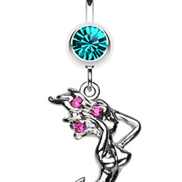 Dazzling Mermaid Belly Button Ring